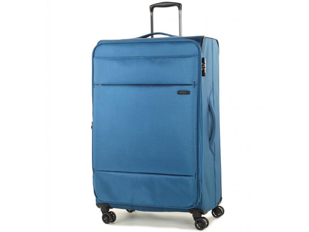 cestovný kufor ROCK TR-0161/3-L - modrá  + LED Čelovka 3W