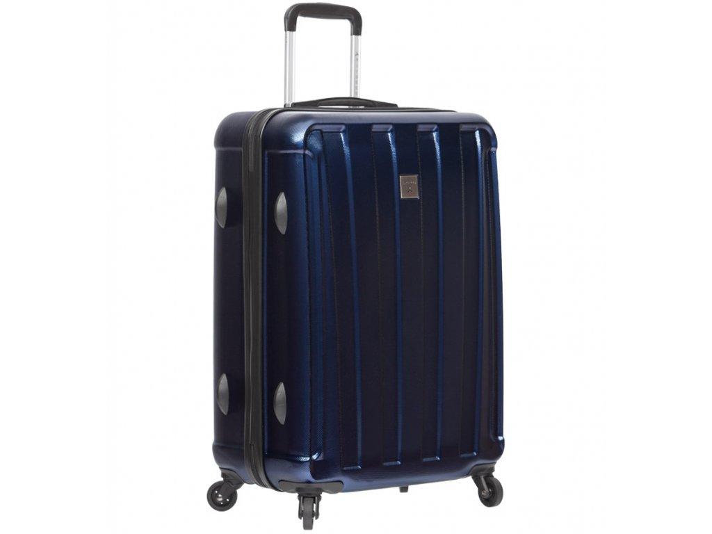 be9f1a849f022 cestovný kufor SIROCCO T-1162/3-M ABS/PC - modrá + LED Svítilna ...