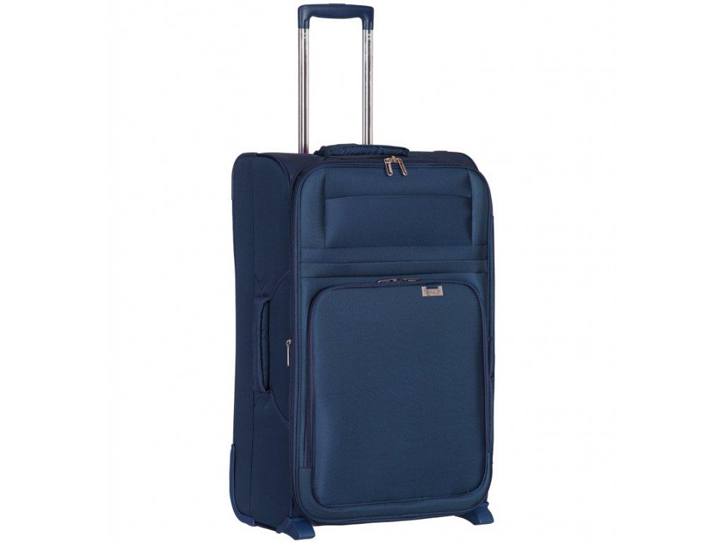 kabinová batožina AEROLITE T-9515/3-S - tmavo modrá  + LED Čelovka 3W