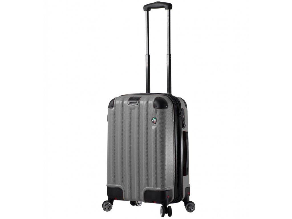 kabinová batožina MIA TORO M1300/3-S - charcoal  + LED svítilna + zľava 10% s kódom AKCE10