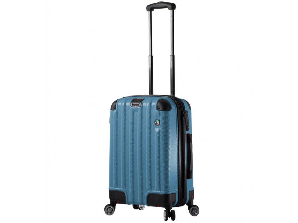 kabinová batožina MIA TORO M1300/3-S - modrá  + LED svítilna