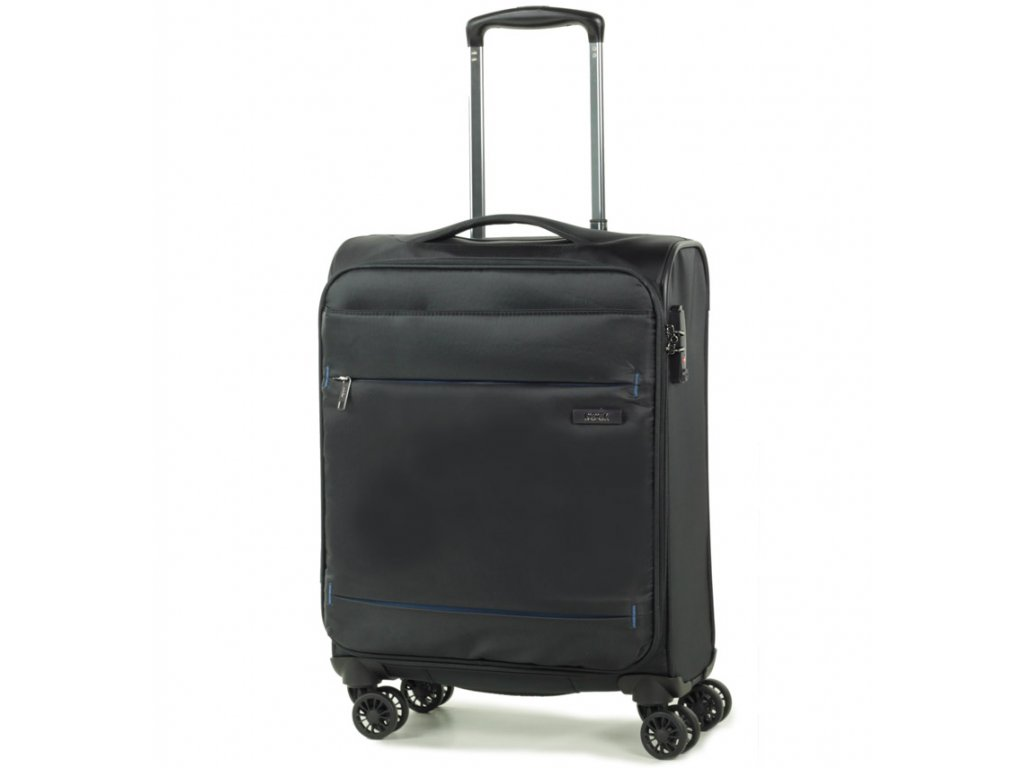 kabinová batožina ROCK TR-0161/3-S - čierna  + LED Čelovka 3W