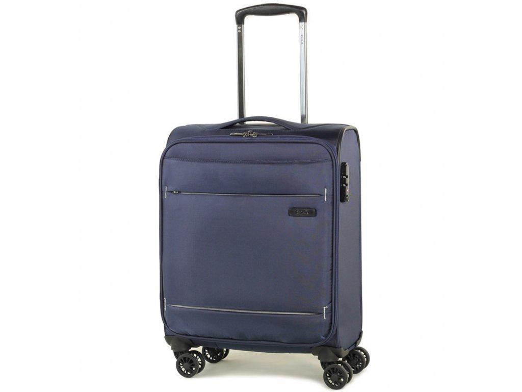 kabinová batožina ROCK TR-0161/3-S - tmavo modrá  + LED Čelovka 3W