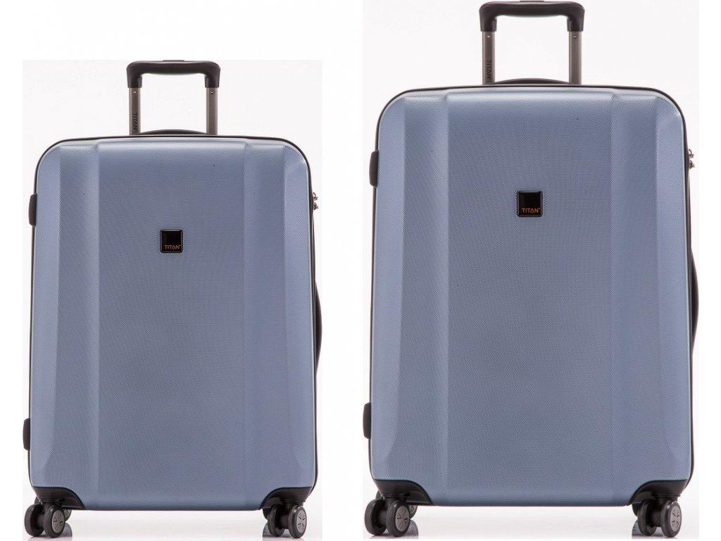 Titan Xenon 4w S, L Blue Stone - sada 2 kufrů