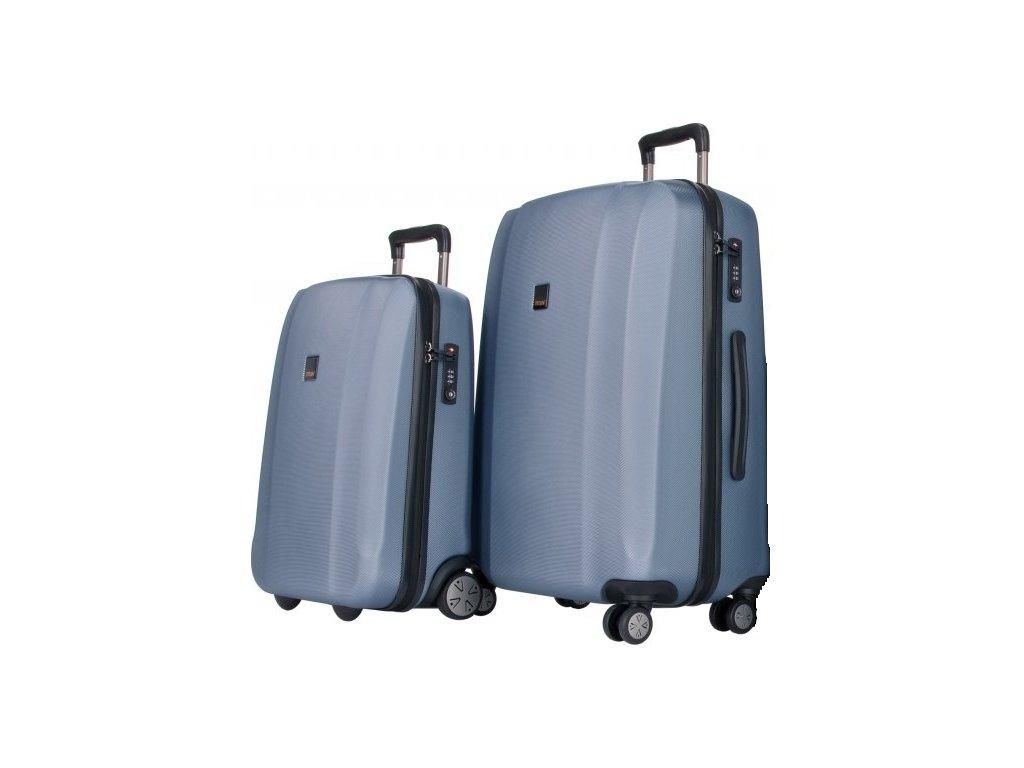 Titan Xenon S,M+ Blue Stone - sada 2 kufrů