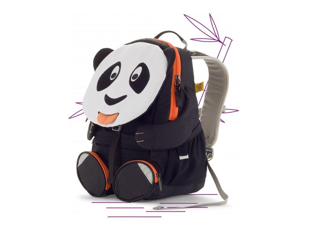 Affenzahn detský batoh do školky Paul Panda