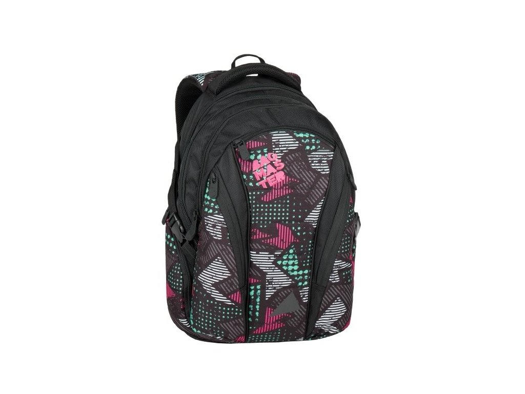 Bagmaster BAG 7 B BLACK/PINK/GREY  + LED Čelovka 3W