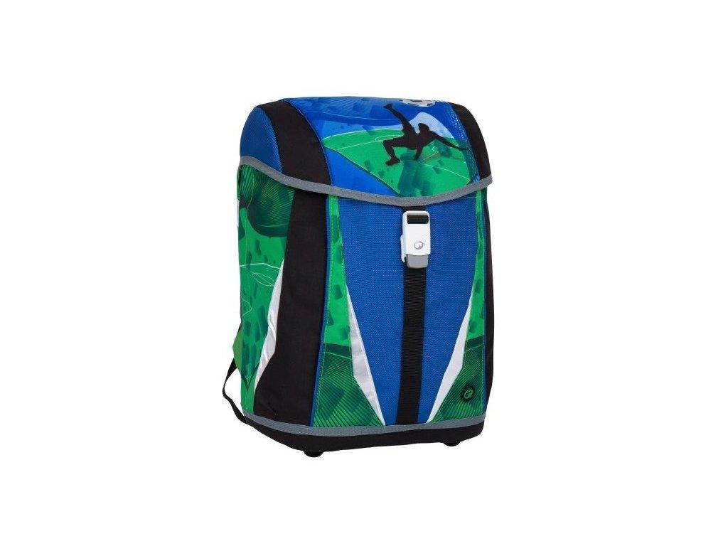 Bagmaster POLO 7 B BLUE/GREEN/BLACK  + LED Čelovka 3W