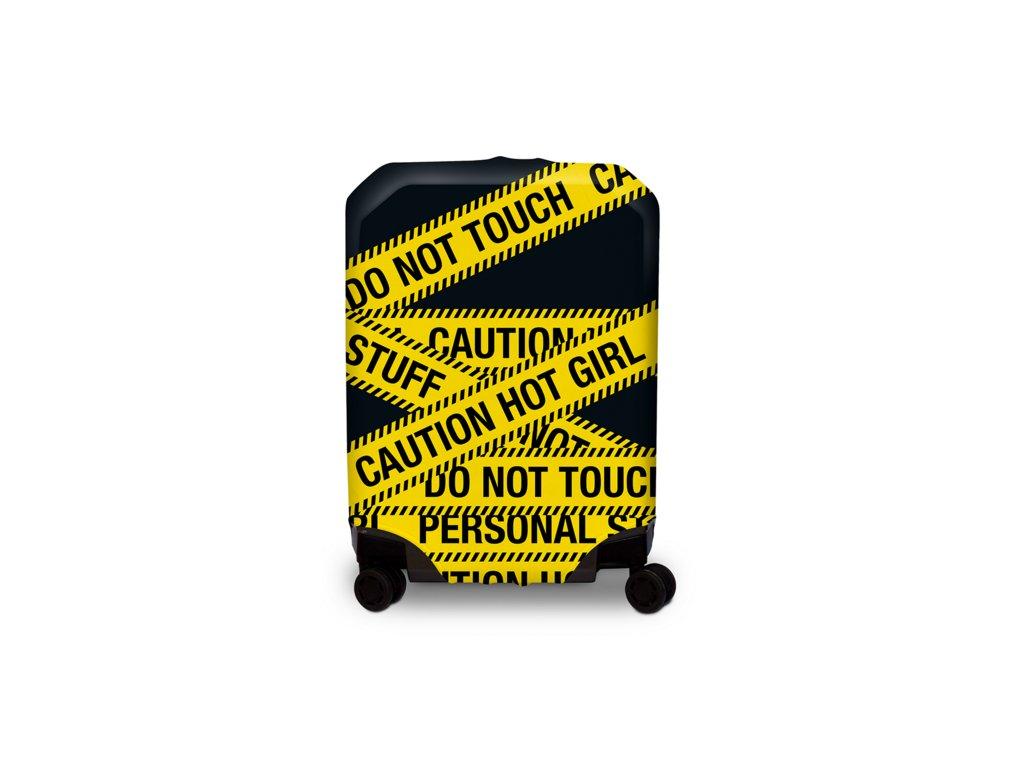 BG Berlin Hug Cover M Caution - Obal na kufor