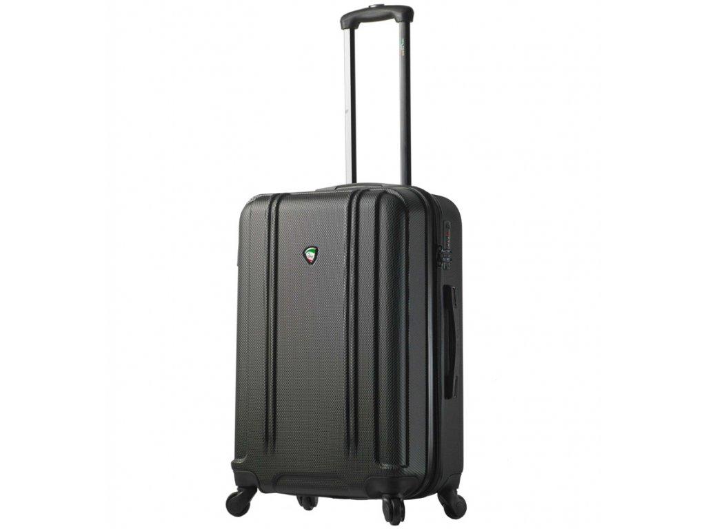 cestovný kufor MIA TORO M1210/3-M - čierna  + LED Čelovka 3W