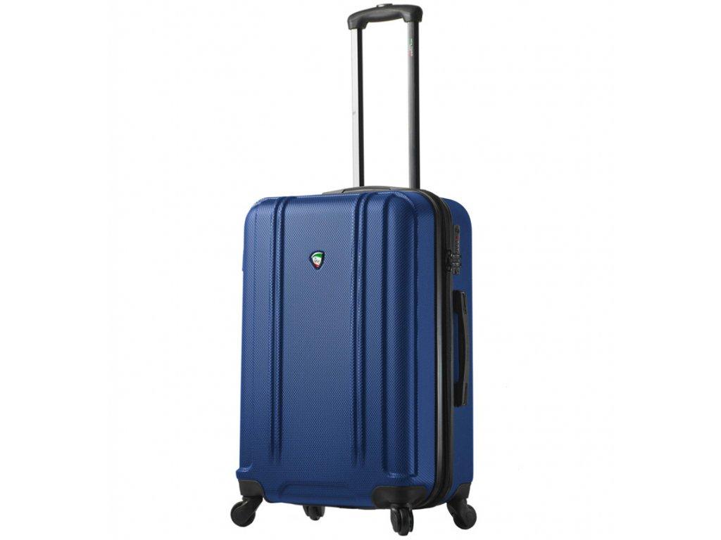 cestovný kufor MIA TORO M1210/3-M - modrá  + LED svítilna