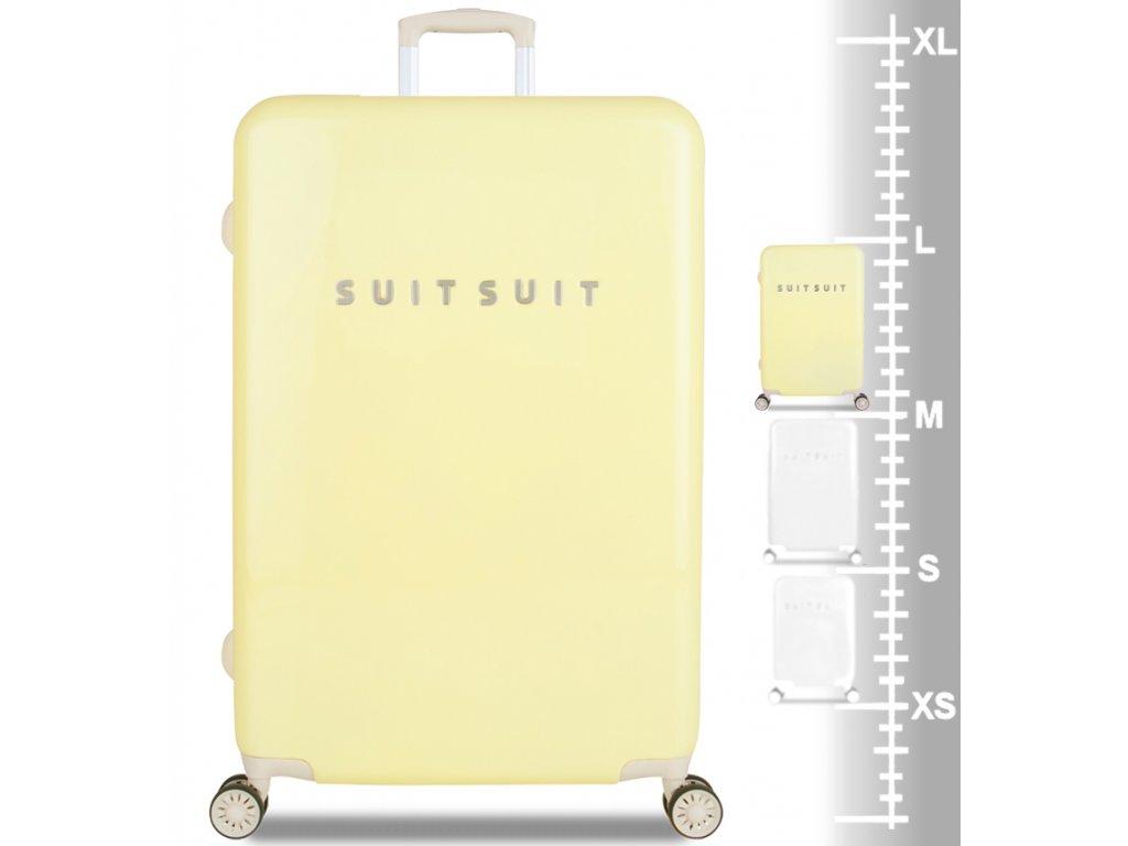 617599da23123 ... cestovný kufor SUITSUIT® TR-1220/3-L - Fabulous Fifties Mango Cream ...