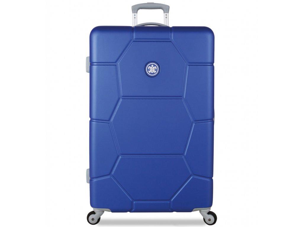 cestovný kufor SUITSUIT® TR-1225/3-L ABS Caretta Dazzling Blue  + LED svítilna + zľava 10% s kódom AKCE10