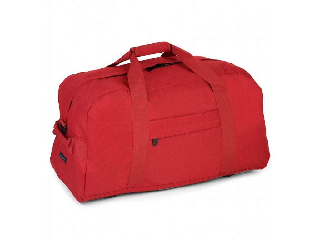 Cestovná taška MEMBER'S HA-0047 - červená