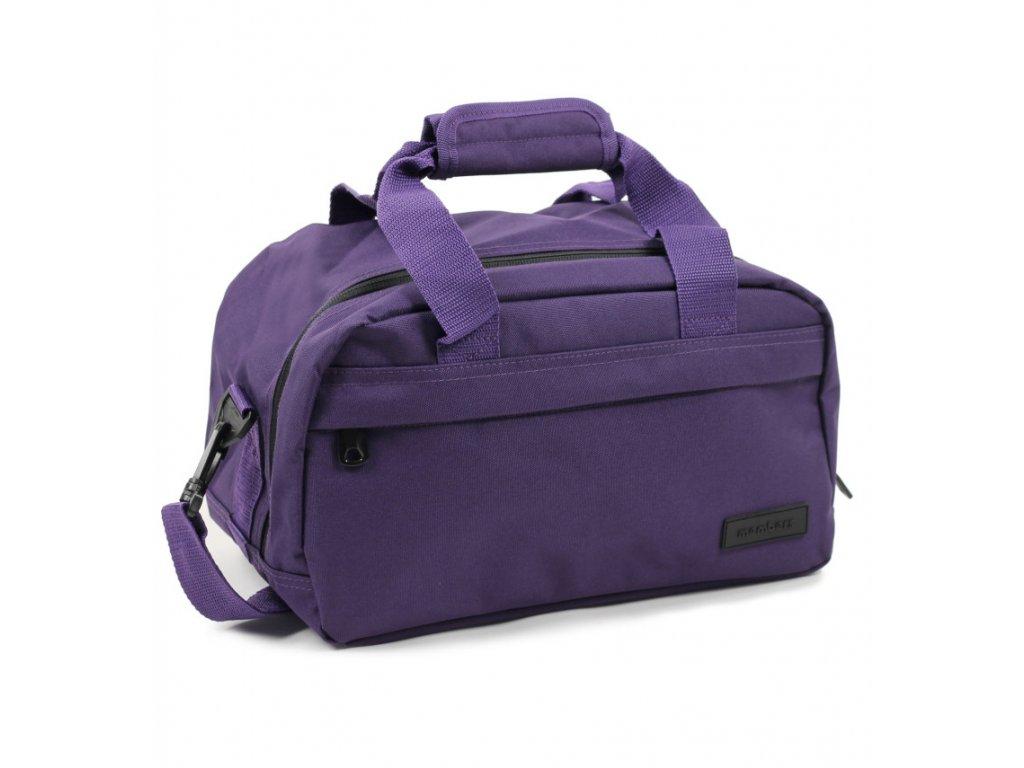Cestovná taška MEMBER'S SB-0043 - fialová