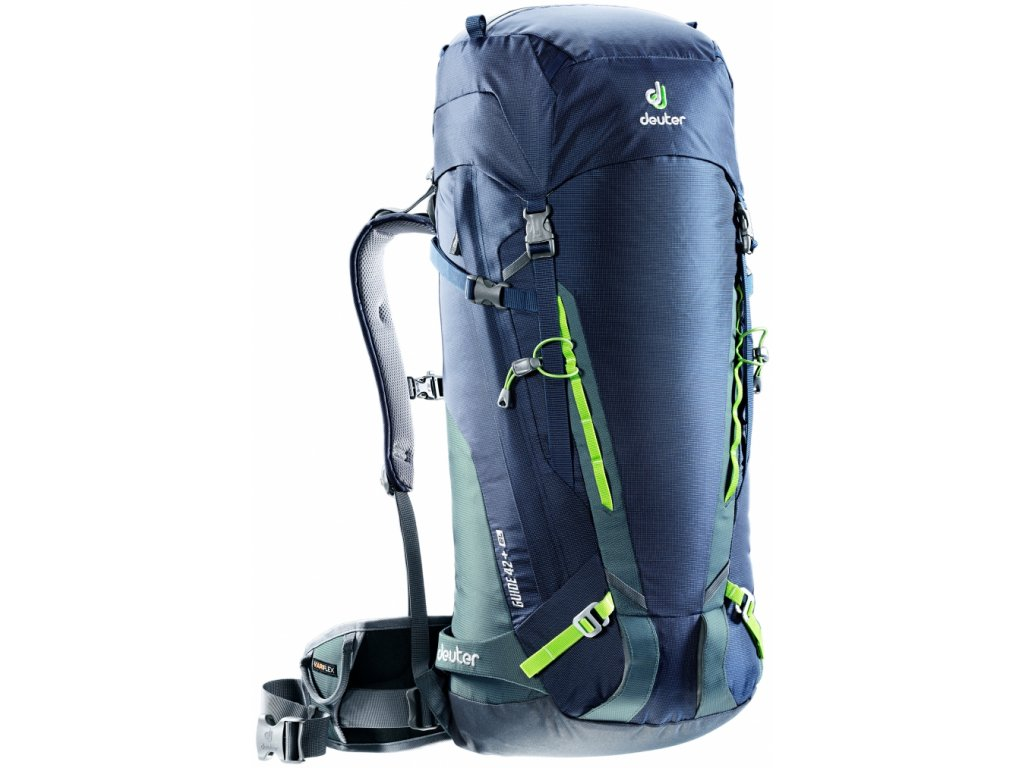 Deuter  Guide 42+ EL Navy-granite - Batoh  + LED Čelovka 3W