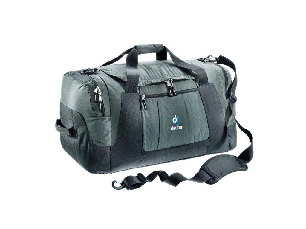 Deuter Relay 80 granite-black - Cestovná taška  + LED Svítilna