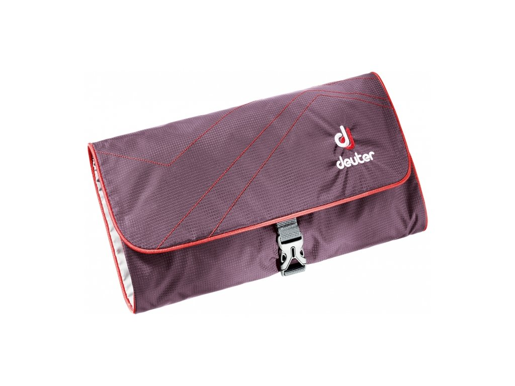 Deuter Wash Bag II aubergine-fire - Taška