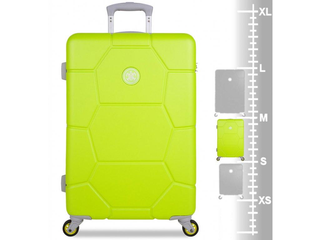 cf845c79154f2 ... cestovný kufor SUITSUIT® TR-1252/3-M ABS Caretta Sparkling Yellow + ...