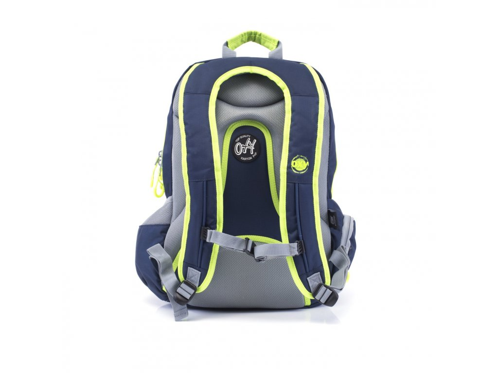 b2f164bb41 Studentský batoh OXY Sport NEON LINE Dark Blue 7-71517 - SvetBatohov.sk