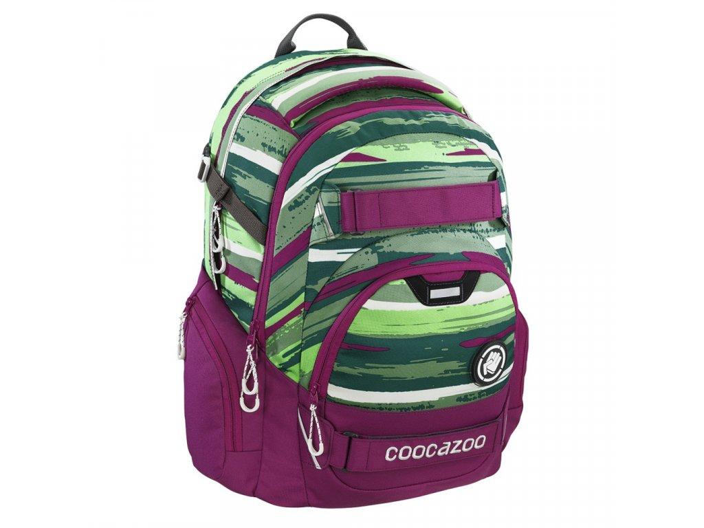 Školní batoh Coocazoo CarryLarry2, Bartik  + LED Čelovka 3W