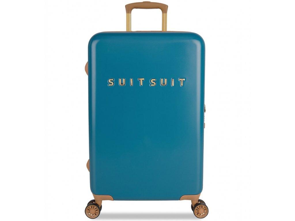 d607e97a83d7d cestovný kufor SUITSUIT® TR-7102/3-M - Fab Seventies Seaport Blue + ...