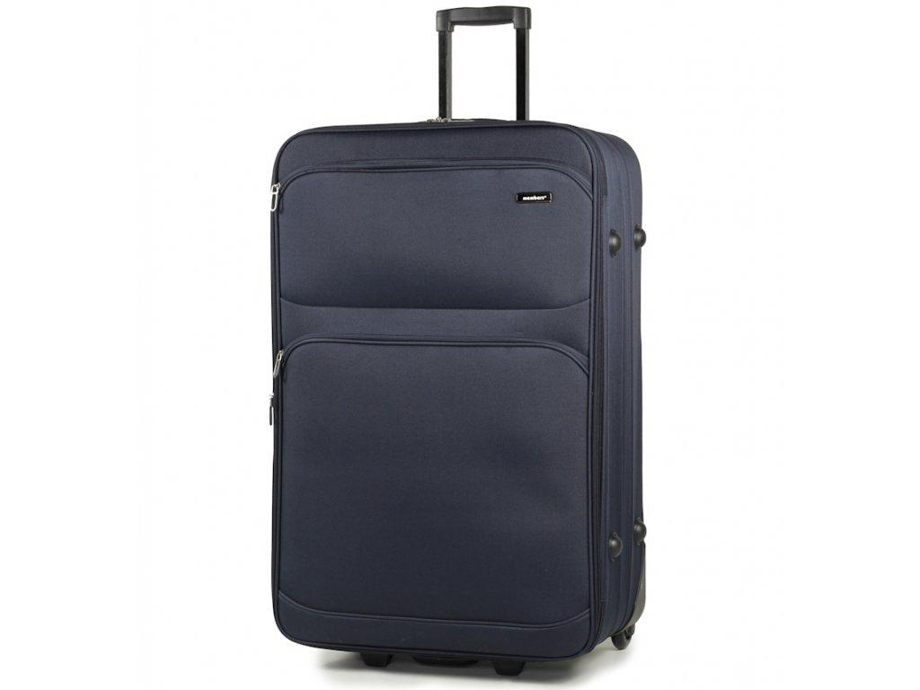 2e76250afcb1d cestovný kufor MEMBER'S TR-0135/4-70 - modrá + LED Svítilna ...