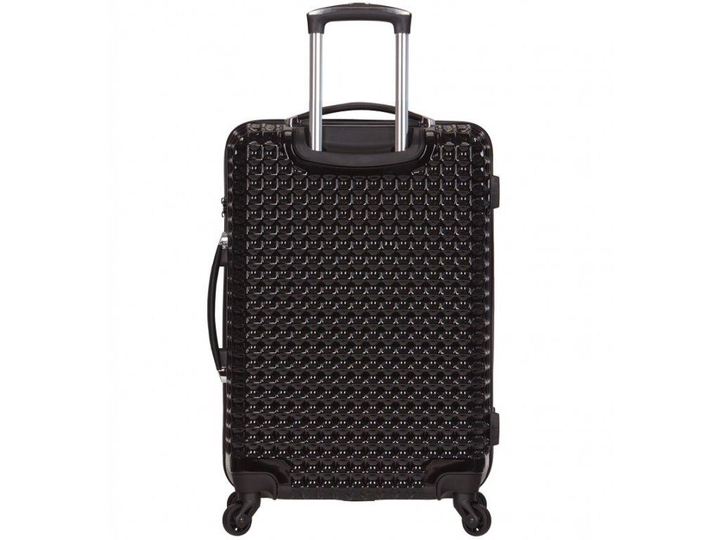 2fde65e687 cestovný kufor SIROCCO T-1195 3-M PC - čierna + LED Svítilna ...