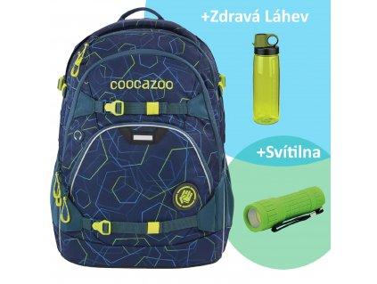 Školní batoh coocazoo ScaleRale, Laserbeam Blue, certifikát AGR