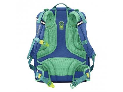 Školní batoh coocazoo ScaleRale, Waveman, certifikát AGR  + LED Čelovka 3W + Sportovní láhev
