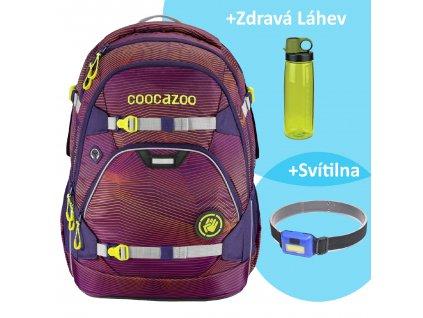 Školní batoh coocazoo ScaleRale 30l Sonicl.Purple, certifikát AGR sk