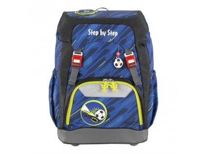 Školní batoh Step by Step GRADE Fotbal  + LED Čelovka 3W