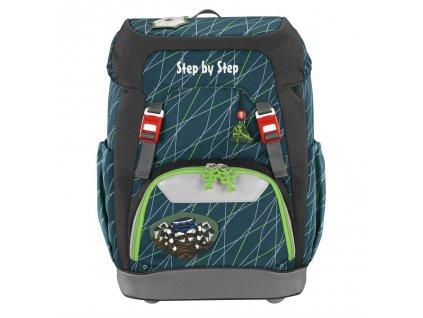 Školní batoh Step by Step GRADE Pavouk  + LED Čelovka 3W