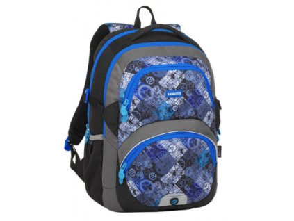 Bagmaster THEORY 8 D BLACK/BLUE/GRAY  + LED svítilna