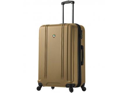 cestovný kufor MIA TORO M1210/3-L - zlatá  + LED svítilna