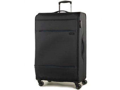 cestovný kufor ROCK TR-0161/3-L - čierna  + LED Čelovka 3W