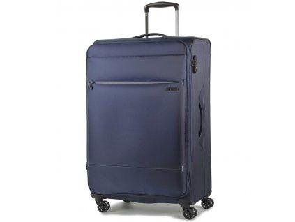 cestovný kufor ROCK TR-0161/3-M - tmavo modrá  + LED svítilna + zľava 10% s kódom AKCE10