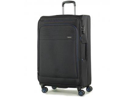 cestovný kufor ROCK TR-0162/3-L - čierna  + LED Čelovka 3W