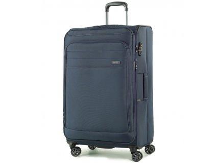 cestovný kufor ROCK TR-0162/3-L - tmavo modrá  + LED Čelovka 3W