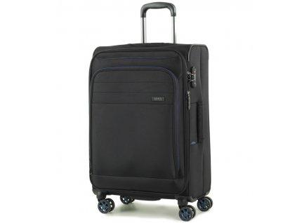 cestovný kufor ROCK TR-0162/3-M - čierna  + LED Čelovka 3W