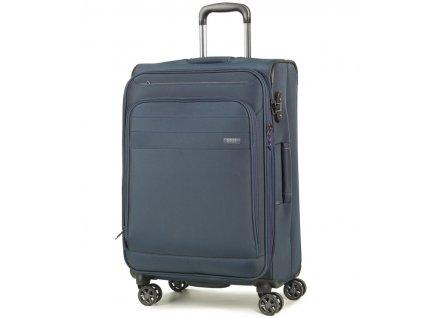 cestovný kufor ROCK TR-0162/3-M - tmavo modrá  + LED Čelovka 3W