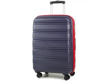 cestovný kufor ROCK TR-0164/3-M PP - modrá/červená  + LED Čelovka 3W