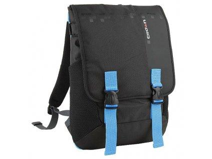 Crown NB006 čierny s modrými prvky