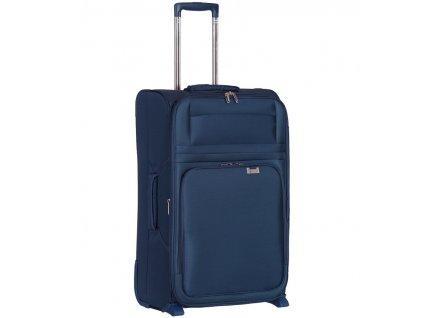 kabinová batožina AEROLITE T-9515/3-S - tmavo modrá  + LED svítilna