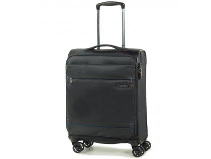 kabinová batožina ROCK TR-0161/3-S - čierna  + LED svítilna