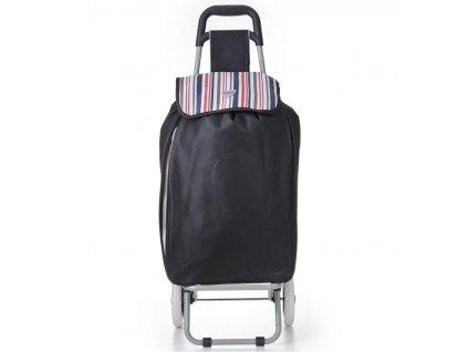 Nákupní taška na kolečkách HOPPA ST-90 - čierna