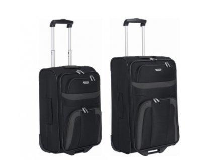 Travelite Orlando S, M Black - sada 2 kufrů