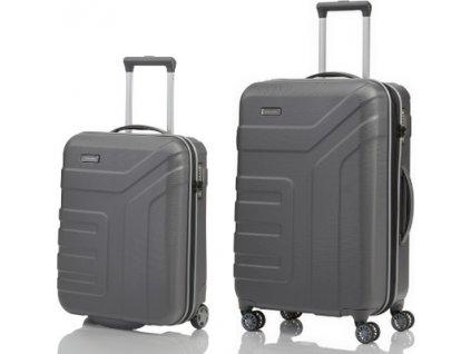 Travelite Vector 2w S, 4w M Anthracite - sada 2 kufrů