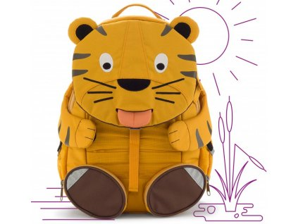 Affenzahn detský batoh do školky Tygr Theo