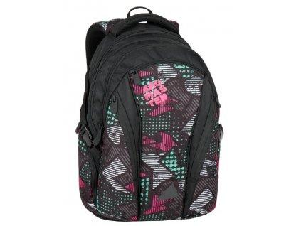 Bagmaster BAG 7 B BLACK/PINK/GREY  + LED Svítilna